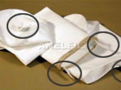 Φιλτρόσακκοι τύπου φακέλου με τσόχα, φιλτρόσακκοι με θηλιά στο πάνω και το κάτω μέρος.